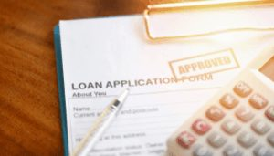 Loan application to finance a scooter