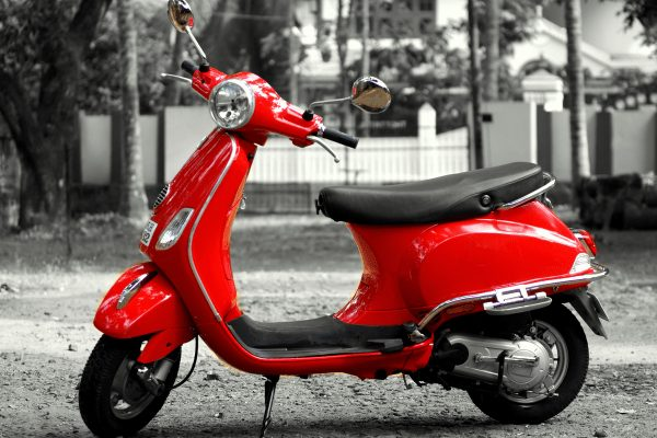 red vespa best scooter moped