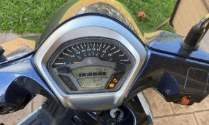 Reset clock on KYMCO moped