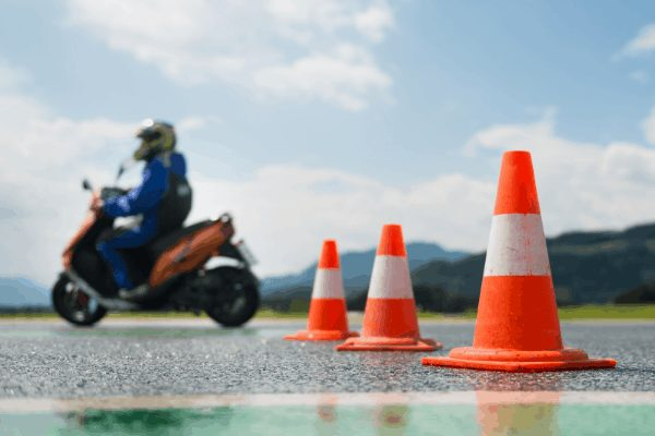 Can I Use a Scooter for a Motorcycle Test?